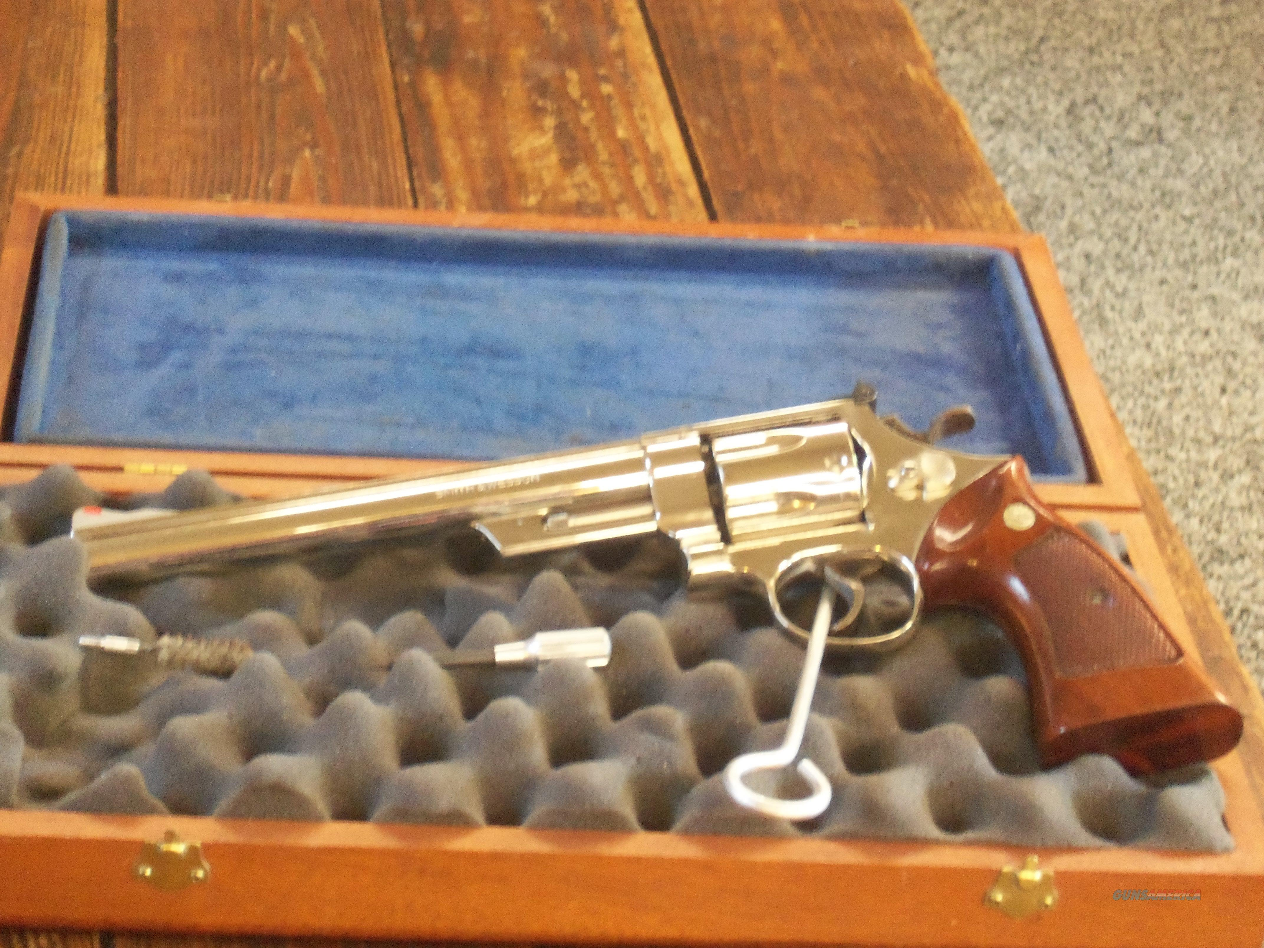 Smith & Wesson29-2  8 3/8 Nickel 44 Magnum W Case  Guns > Pistols > Smith & Wesson Revolvers > Full Frame Revolver