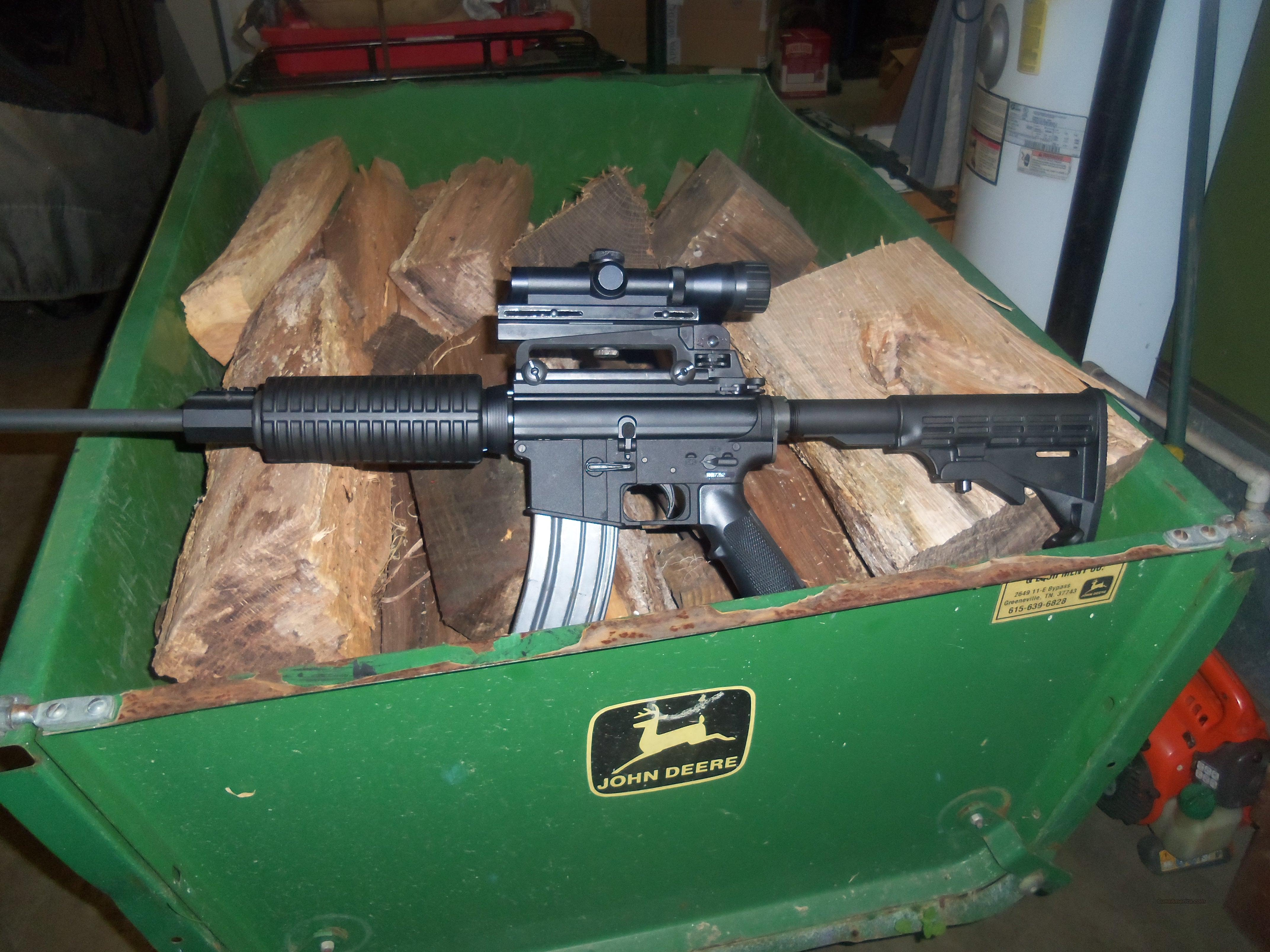 Ar155.56 with carry handle and scope  Guns > Rifles > AR-15 Rifles - Small Manufacturers > Complete Rifle