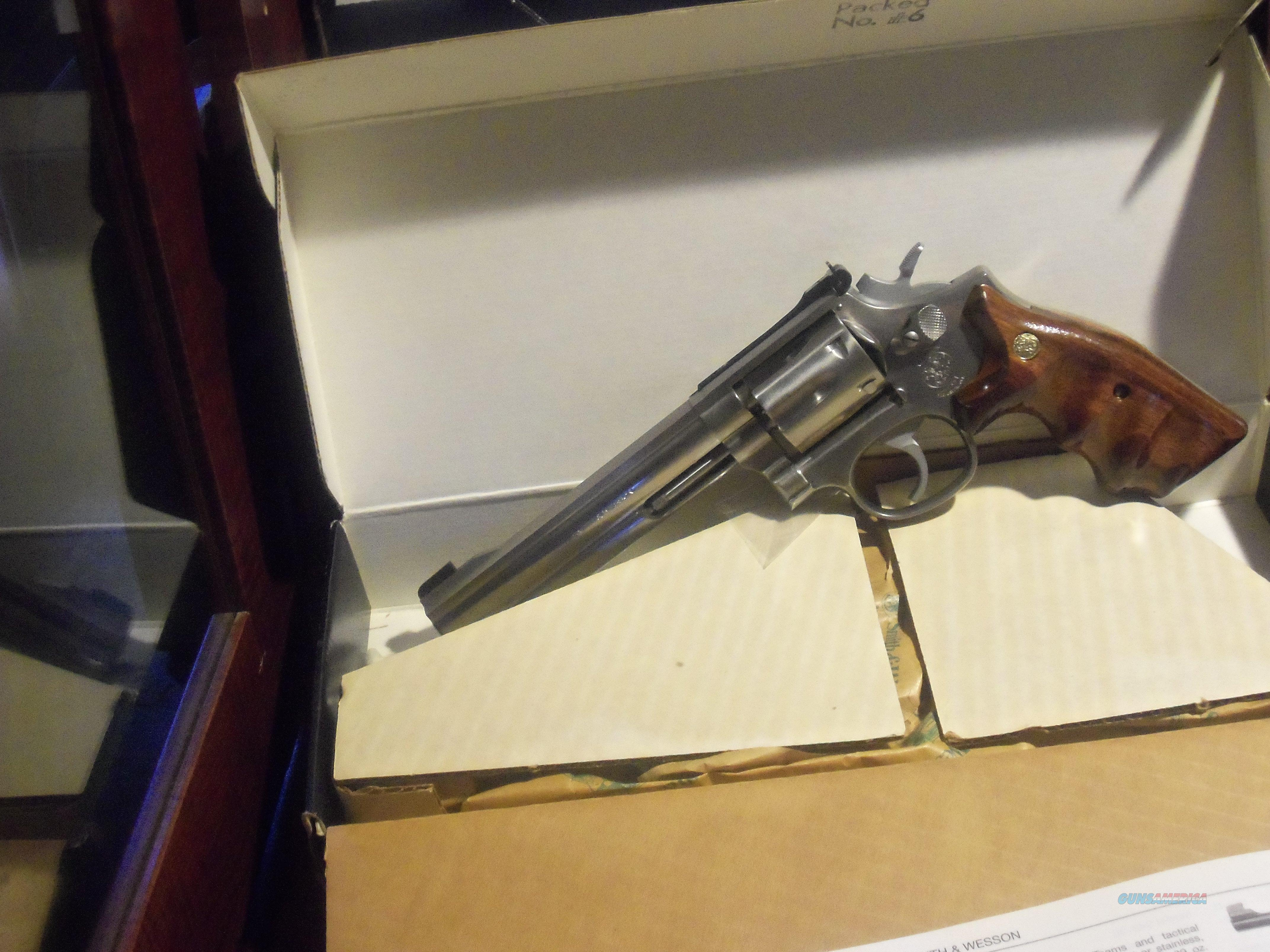 "Smith&Wesson 648 6"" Stainless 22 Magnum NIB  Guns > Pistols > Smith & Wesson Revolvers > Full Frame Revolver"