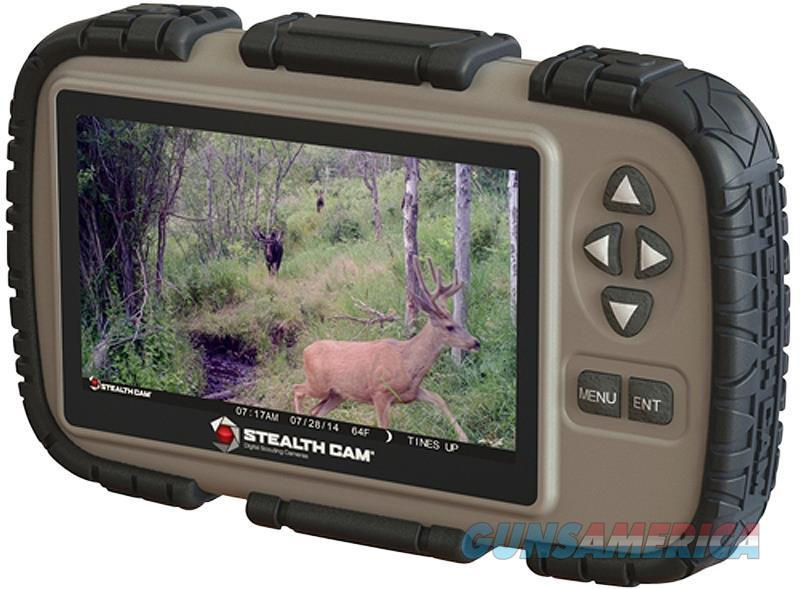 "Stealth Cam Crv43 Sd Memory Card Viewer 4.3"" Lcd Tan/Black Aaa (4) CRV43  Non-Guns > Gun Parts > Misc > Rifles"