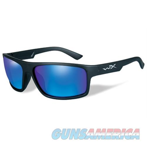 Wiley X Wiley X Peak Plrzd Blue Mirror Matte ACPEA09  Non-Guns > Hunting Clothing and Equipment > Clothing > Non-Camo Outerwear