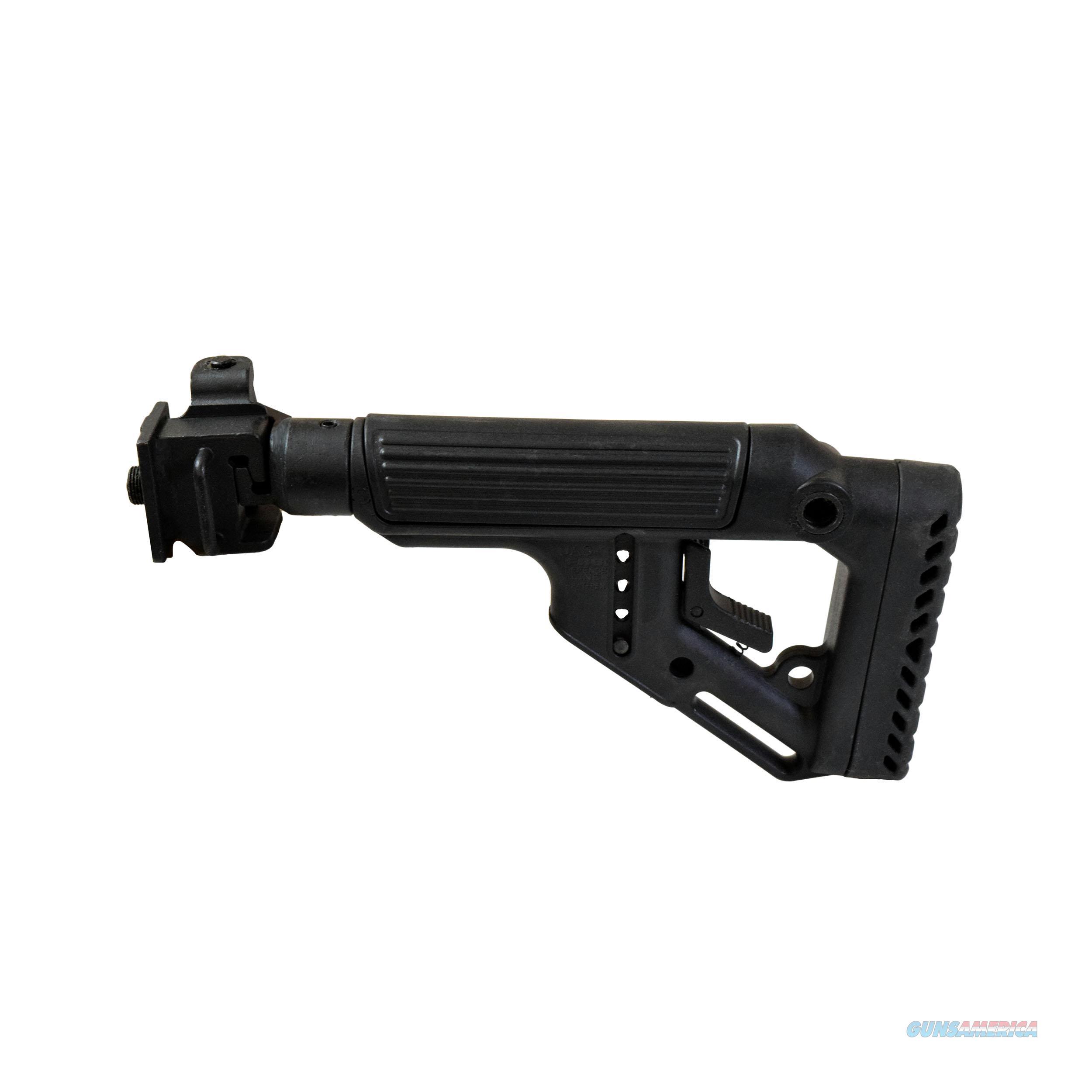 Mako Group Tactical Folding Buttstock UAS-VZ-B  Non-Guns > Gunstocks, Grips & Wood