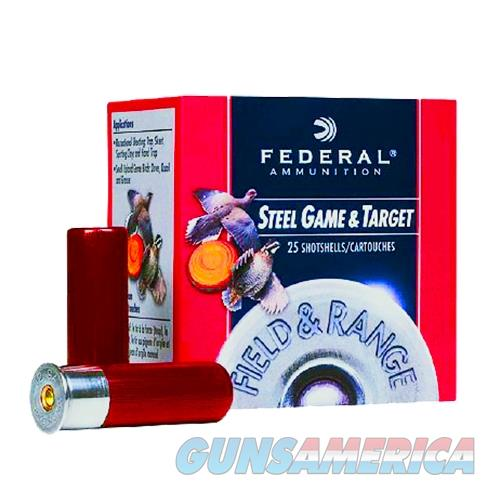 "Federal Frs207 Standard Field & Range Steel 20 Ga 2.75"" 3/4Oz 7 Shot 25Bx/10Cs FRS20 7  Non-Guns > Ammunition"