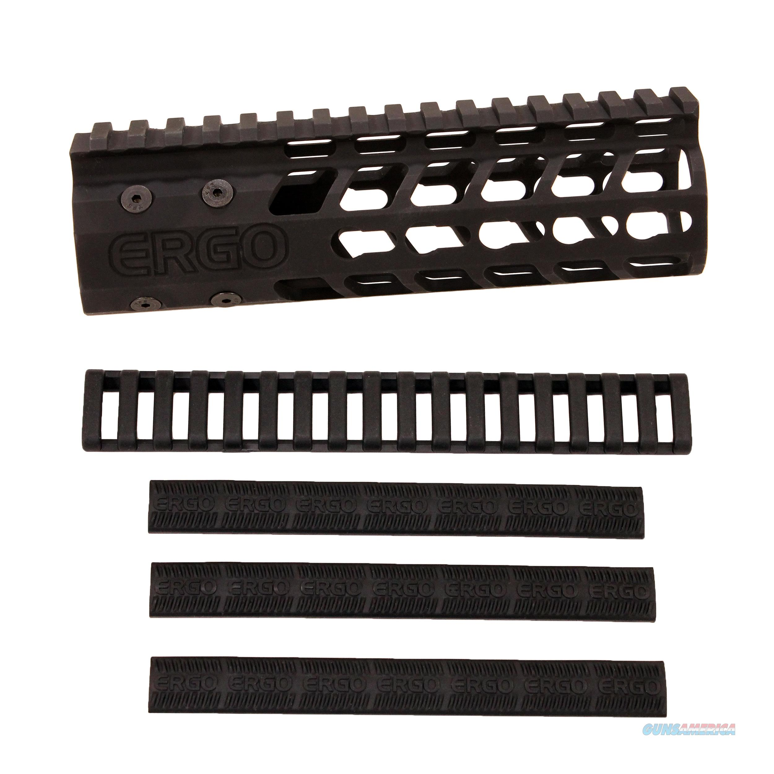 "Ergo Grip Rail Keymod 7"" Superlite Black 48197BK  Non-Guns > Gunstocks, Grips & Wood"