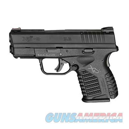 "Springfield Armory Sprgfld Xds 9Mm 3.3"" Blk 8Rd XDS9339BE  Guns > Pistols > S Misc Pistols"