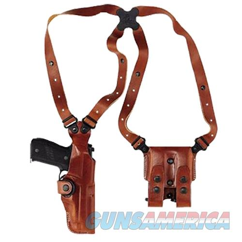 Galco Vhs202 Vertical Shoulder 202 Adjustable Tan Leather VHS202  Non-Guns > Holsters and Gunleather > Other