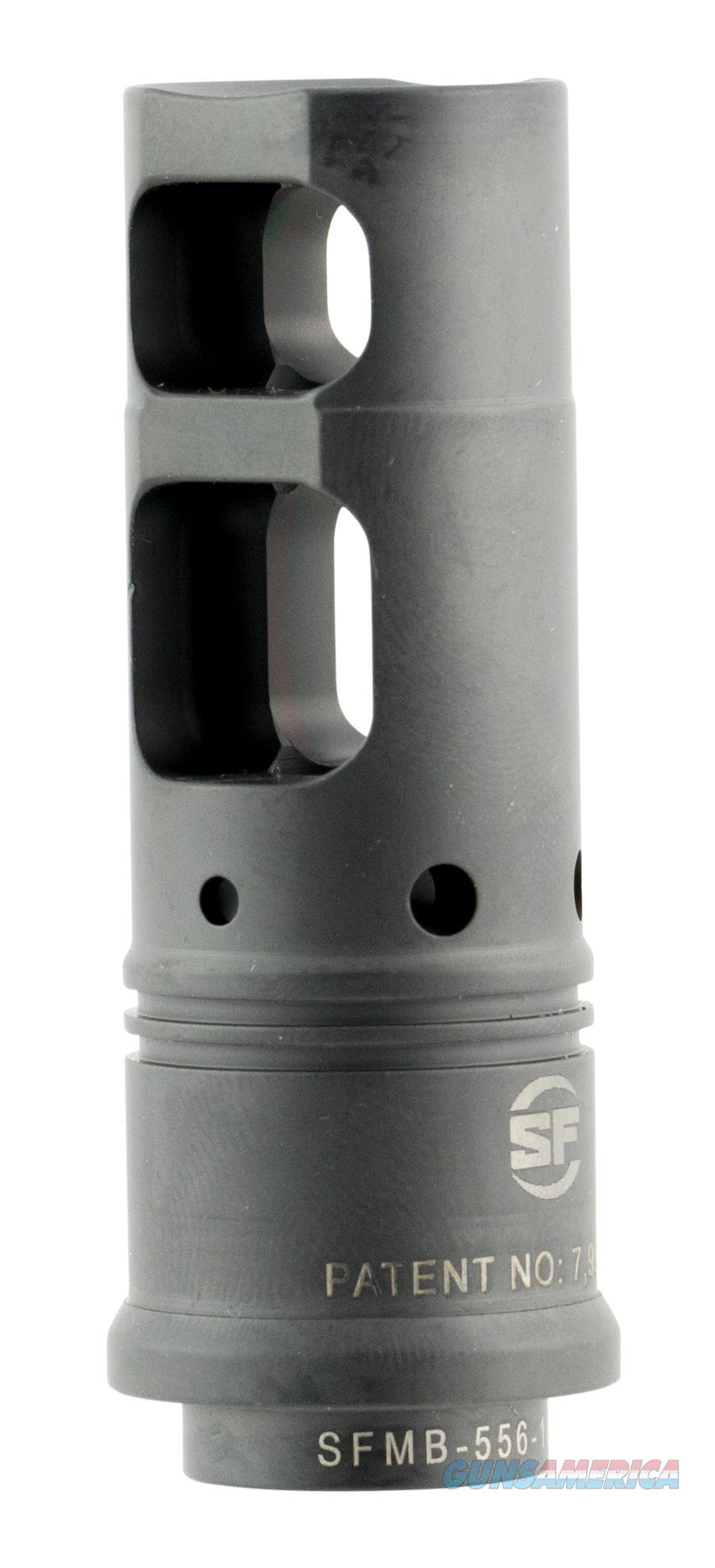 "Surefire Sfmb556 Suppressor Adapter Muzzle Brake M16/M4 5.56Mm Stainless Steel 2.7"" SFMB556  Non-Guns > Gun Parts > Misc > Rifles"
