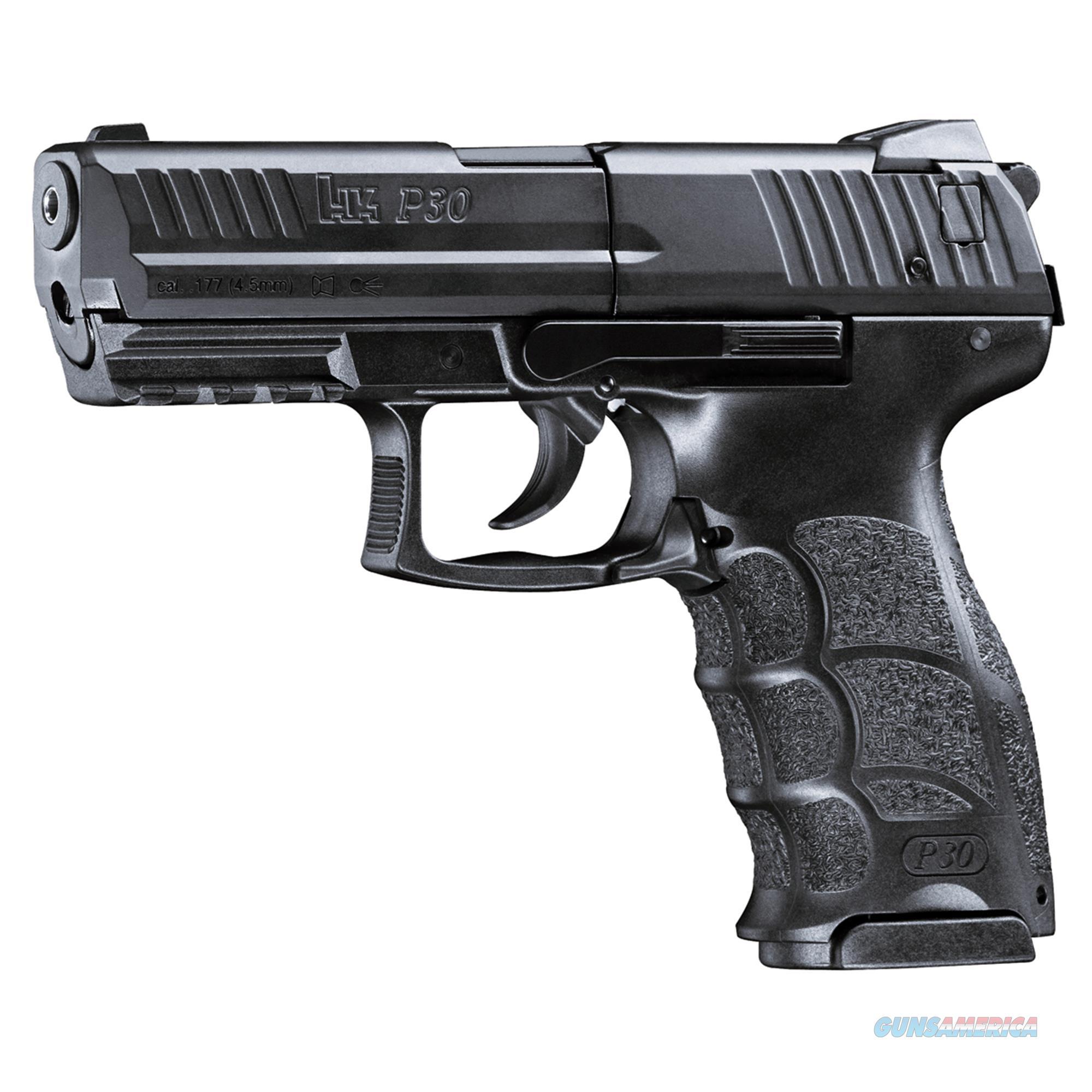 Umarex H&K P30 Black (Pellets/Bb's) .177 2252302  Non-Guns > Air Rifles - Pistols > CO2 Rifle