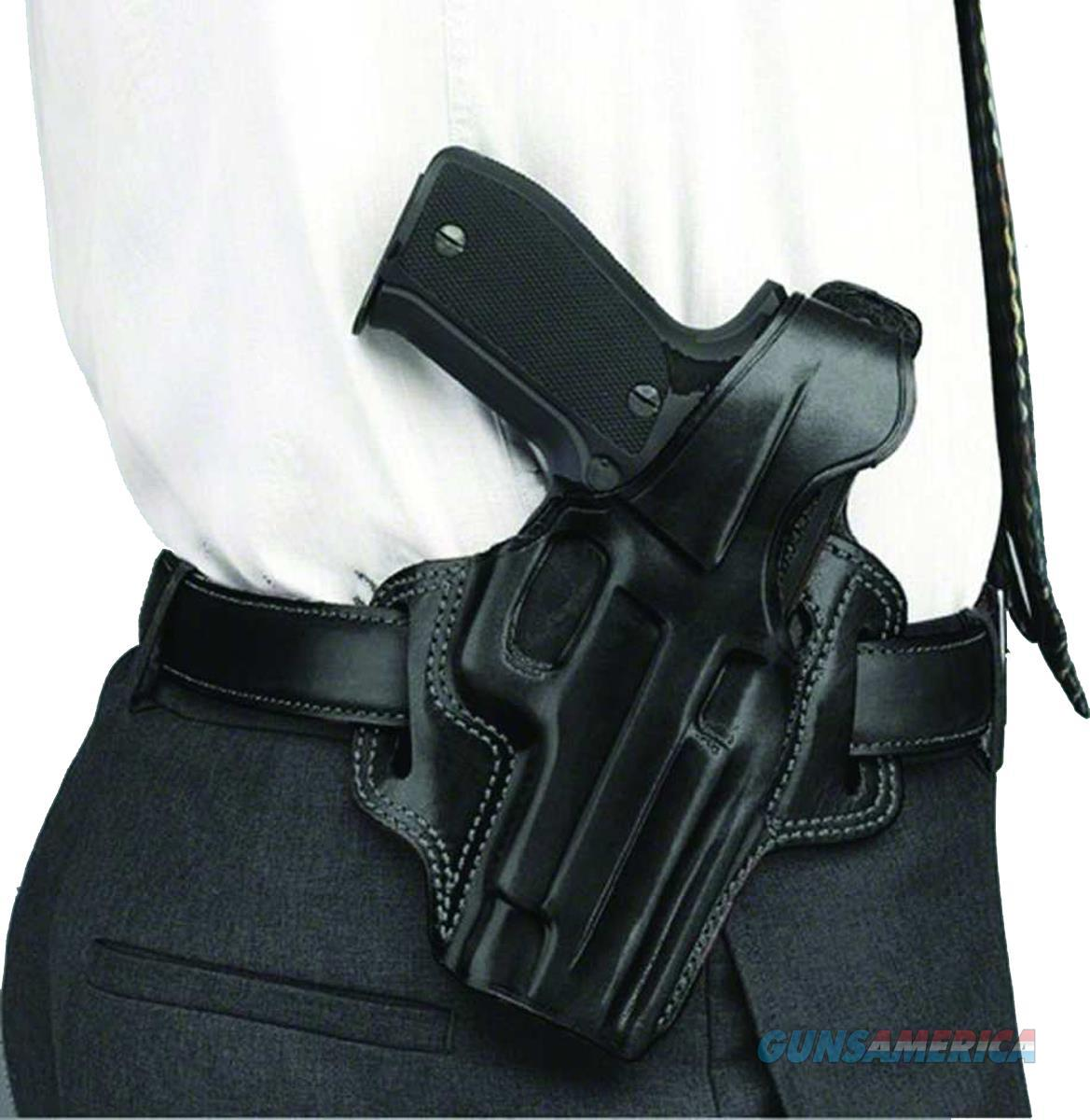 Galco Fl458b Fletch High Ride  Fn Five-Seven Usg Steerhide Black FL458B  Non-Guns > Holsters and Gunleather > Other