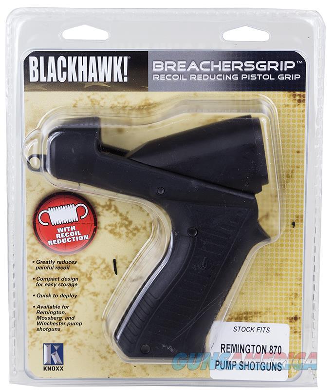 Blackhawk K02200c Breachersgrip Pistol Grip Stk Moss 88/500/535/590/835 Poly Blk K02200-C  Non-Guns > Gunstocks, Grips & Wood