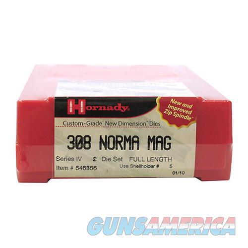 Hornady Custom Grade Series Iv New Dimension 2-Die Set 546356  Non-Guns > Reloading > Components > Brass