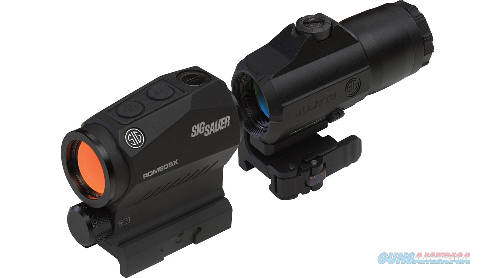 Sig Sauer Romeo5 Juliet3 1X Red Dot 3X Magnifier SORJ53101  Non-Guns > Scopes/Mounts/Rings & Optics > Rifle Scopes > Variable Focal Length