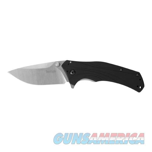 Kershaw Knockout Assisted 3.25 In Stonewash Plain Aluminum 1870  Non-Guns > Knives/Swords > Knives > Fixed Blade > Imported