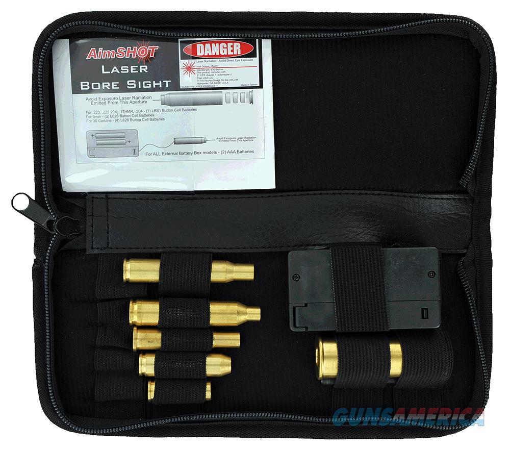 Aimshot Ktmaster Kt Master Rifle Bore Sight Kit Green Laser Boresighter Arbor Multiple Chamber Brass KT-MASTER  Non-Guns > Gunsmith Tools/Supplies