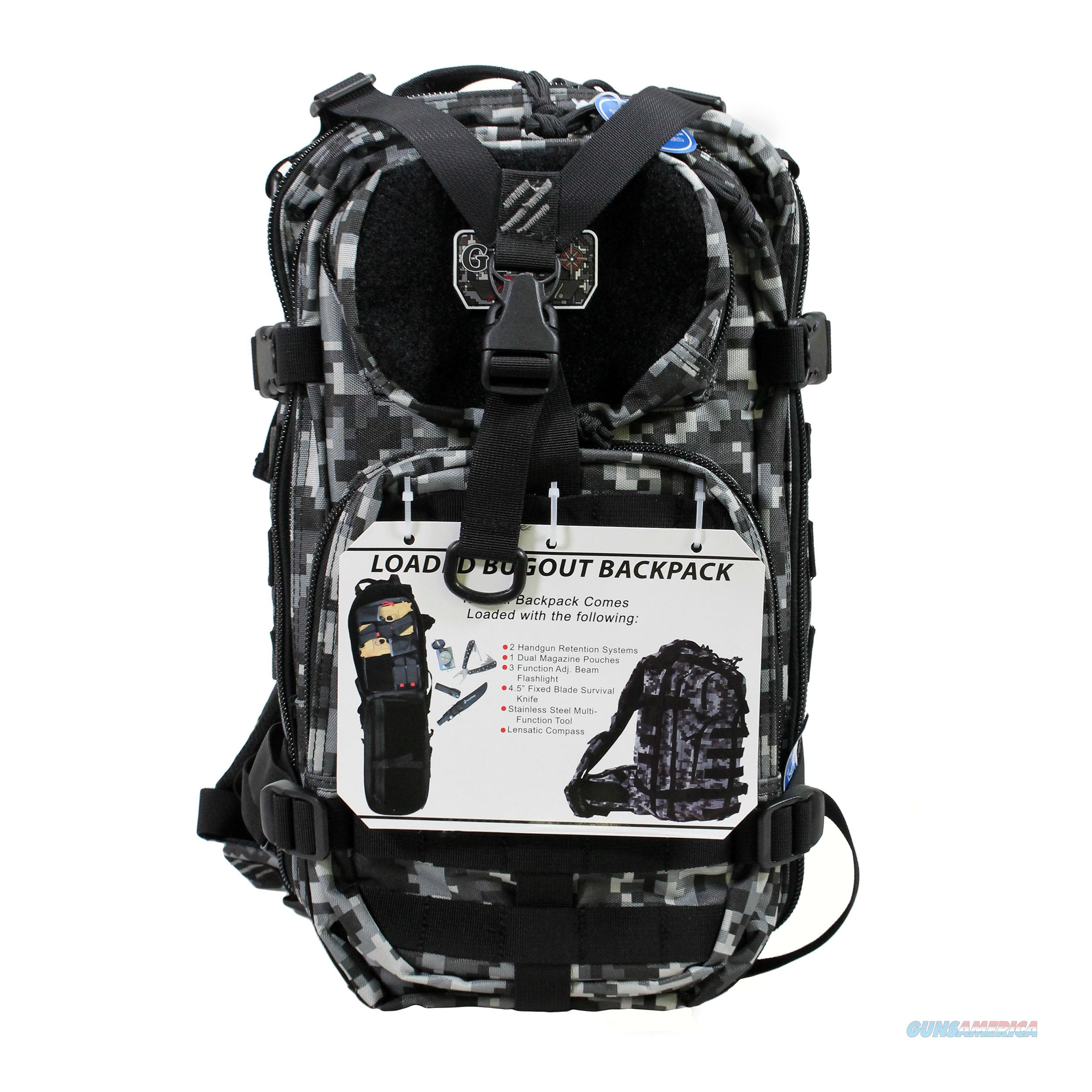 Goutdoors, Inc. Tactical Range Backpack GPS-T1611LTBGD  Non-Guns > Holsters and Gunleather > Other