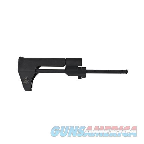Troy Industries Inc Stock Assembly, Airborne, Black SBUT-ABN-00BT-00  Non-Guns > Gunstocks, Grips & Wood