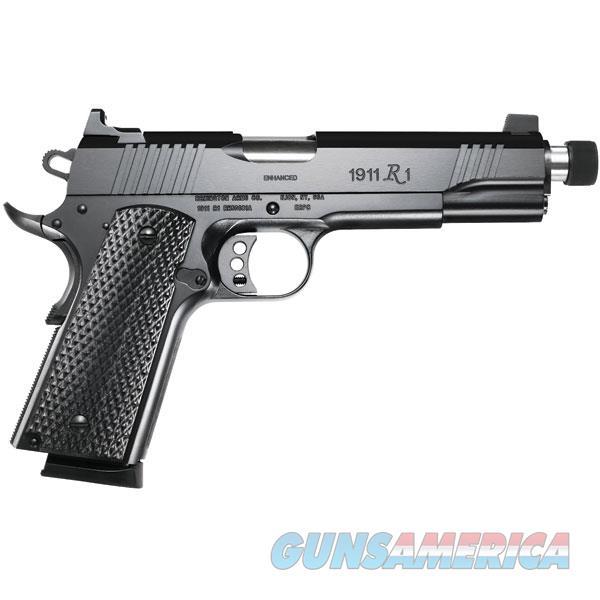 "Remington Firearms 96339 1911 R1 Enhanced Single 45 Automatic Colt Pistol (Acp) 5.5"" Tb 8+1 Laminate Black Grip Black 96339  Guns > Pistols > R Misc Pistols"
