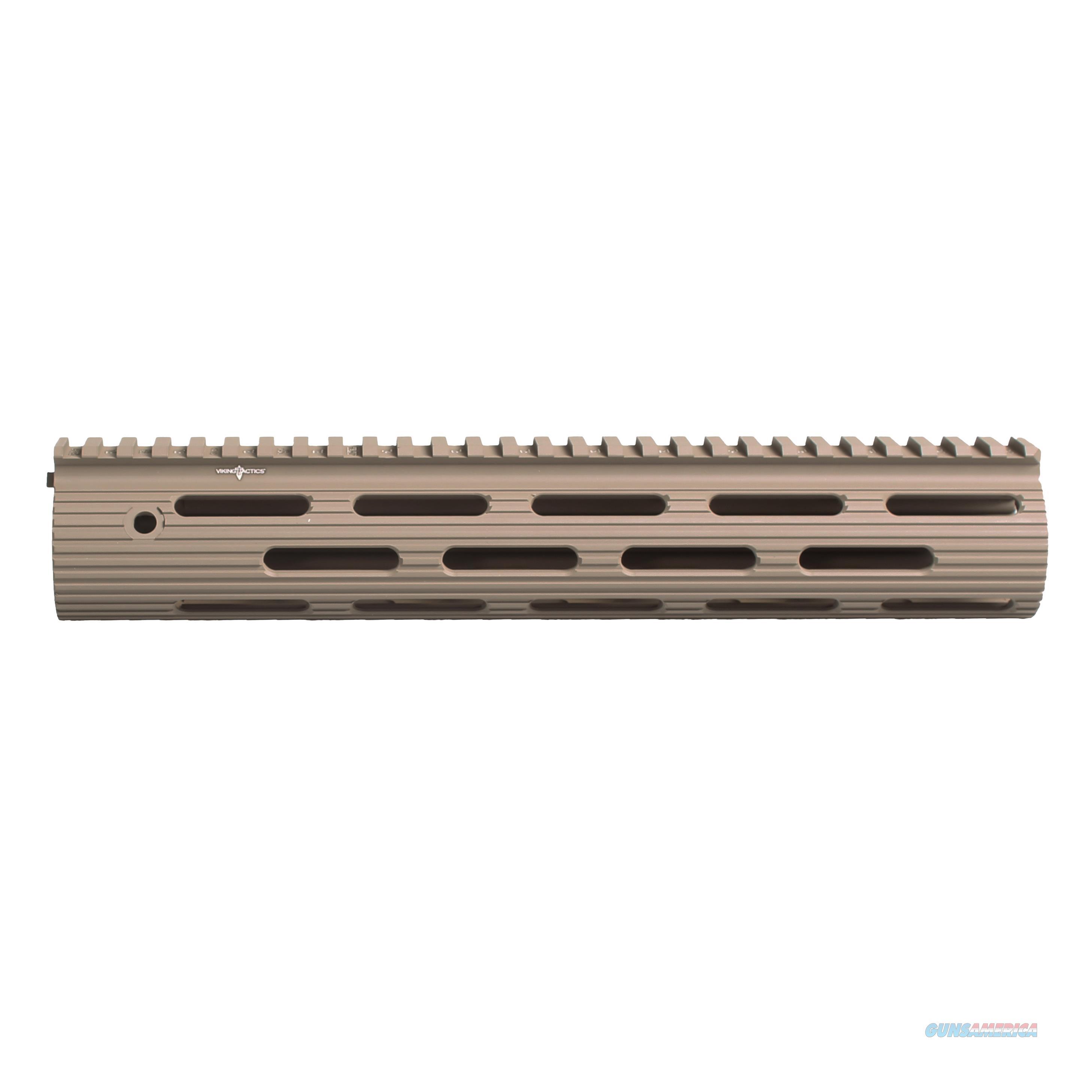 Troy Industries Inc Vtac Alpha Rail, No Sight, Flat Dark Earth STRX-AVK-11FT-01  Non-Guns > Gunstocks, Grips & Wood