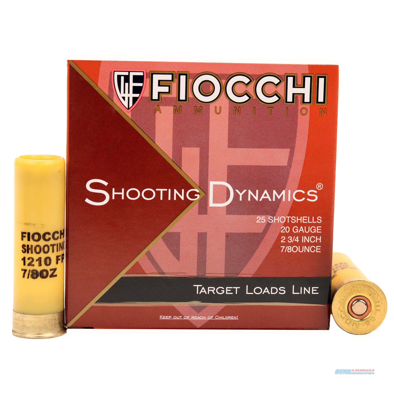 Fiocchi Shooting Dynamics 20 Gauge 20SD75  Non-Guns > Ammunition
