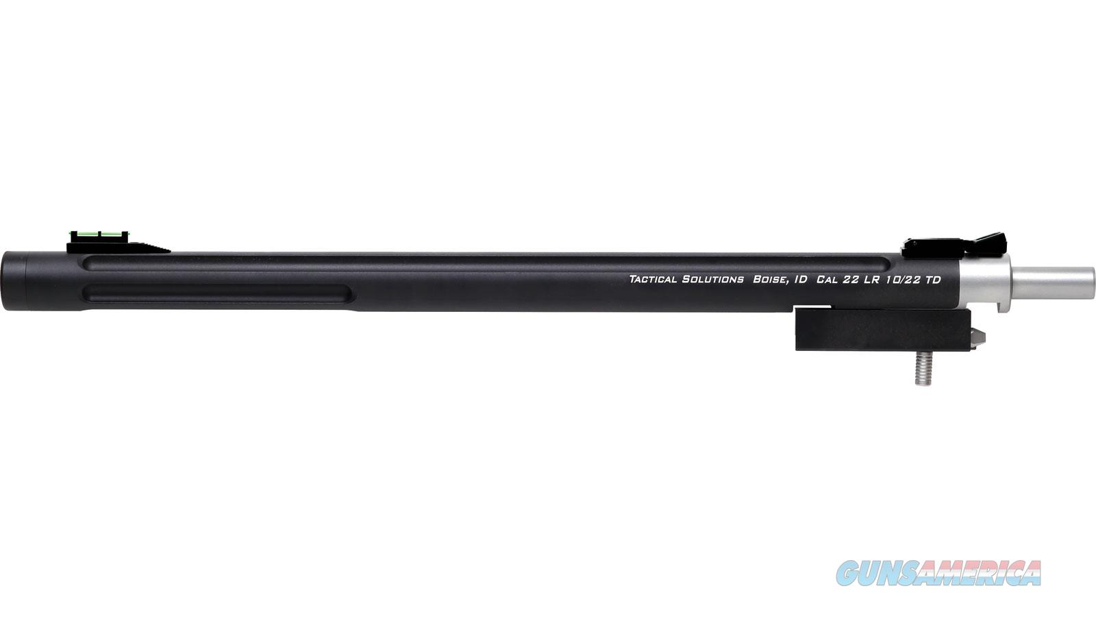 Tactical Solutions Bbl 10/22 Takedow 16.5 Thrd Bull Fos Blk 1022TD-MB  Non-Guns > Barrels