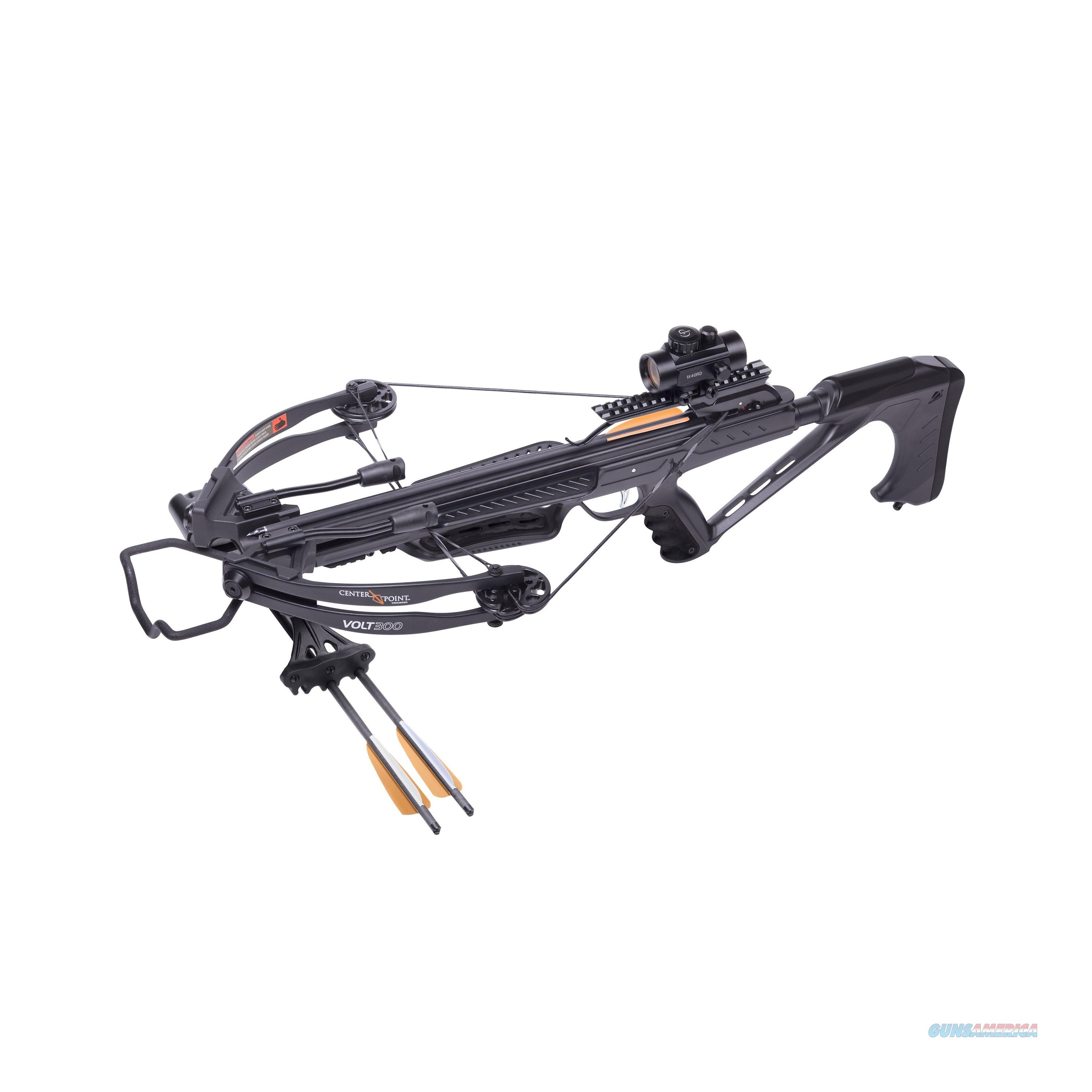 Crosman Volt 300 Low Draw Weight Compound Crossbow Package AXCV130BK  Non-Guns > Archery > Bows > Crossbows