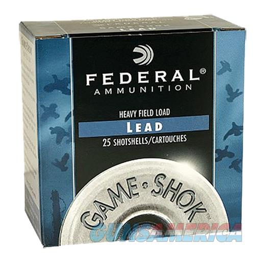 Federal Game-Shok Hvy Field 12Ga 2.75 1-1/8Oz #7.5 H123 7.5  Non-Guns > Ammunition