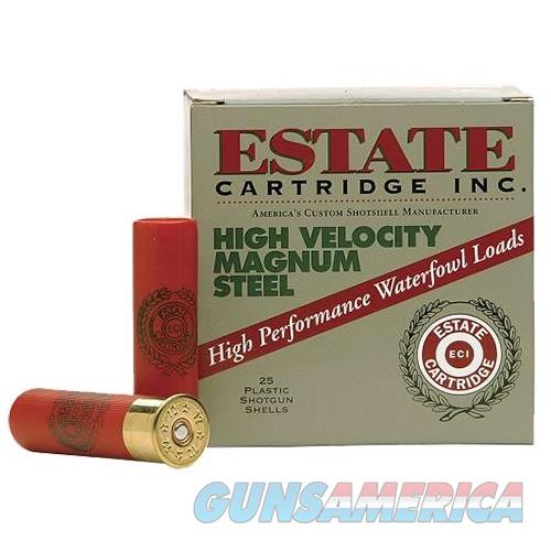 "Estate Hvst12sm High Velocity 12 Ga 2.75"" 1-1/4 Oz 2 Shot 25 Bx/ 10 Cs HVST12SM  Non-Guns > Ammunition"