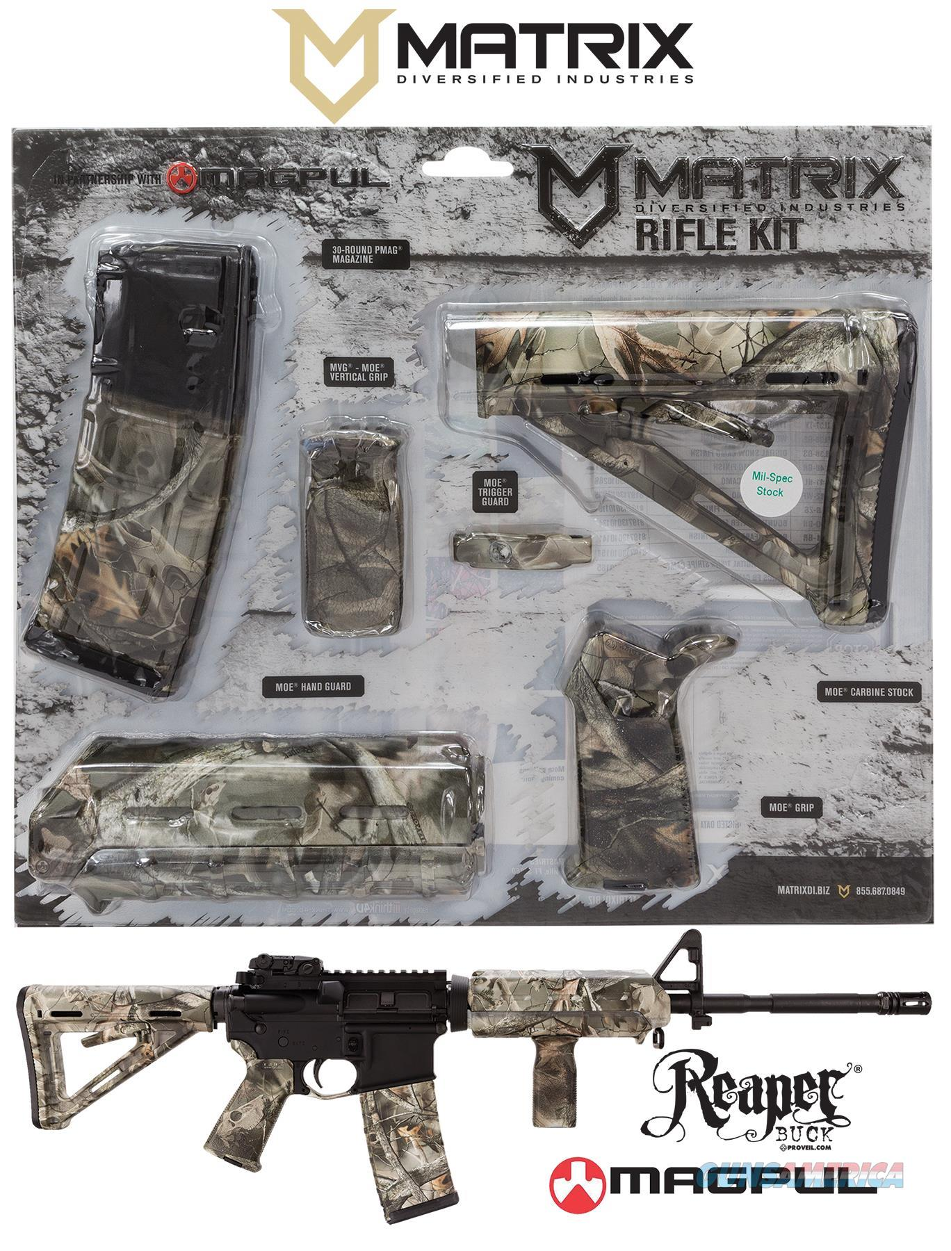 Mdi Magmil06-Rb Reaper Buck Magpul Moe Kit Poly Ar-15 MAGMIL06RB  Non-Guns > Gunstocks, Grips & Wood
