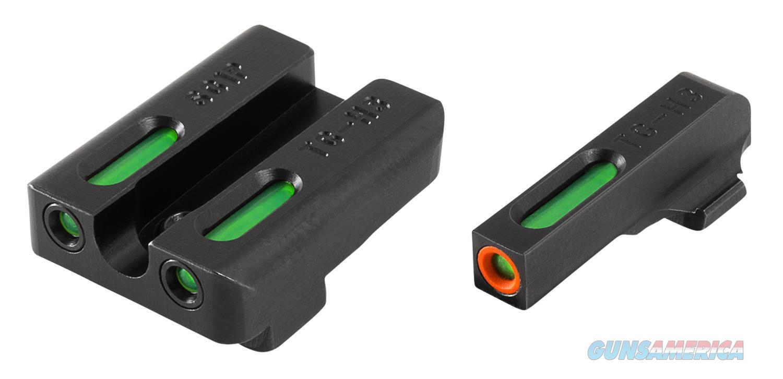 Truglo Tg13sg1pc Tfx Pro Day/Night Sights Pistol Tritium/Fiber Optic Green W/Orange Outline #8 Front Green #8 Rear Black TG13SG1PC  Non-Guns > Iron/Metal/Peep Sights