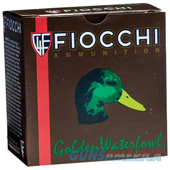 Fiocchi Golden Waterfowl Steel 12Ga 3 1.25Oz Bbb 123SGW3B  Non-Guns > Ammunition
