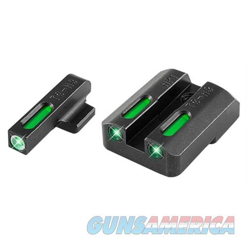 Truglo Tg13hp1a Tfx Day/Night Sights Hk P30 Tritium/Fiber Optic Green W/White Outline Front Green Rear Black TG13HP1A  Non-Guns > Iron/Metal/Peep Sights