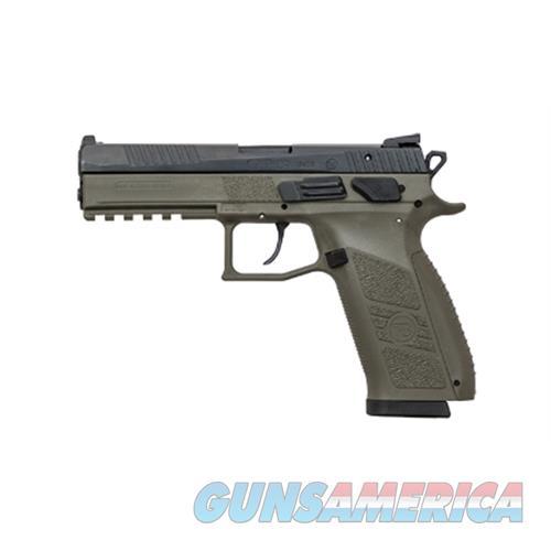 Cz Usa Po9 9Mm Luger Ns 19-Shot Polymer Frame Od Green ! 91268  Guns > Pistols > C Misc Pistols