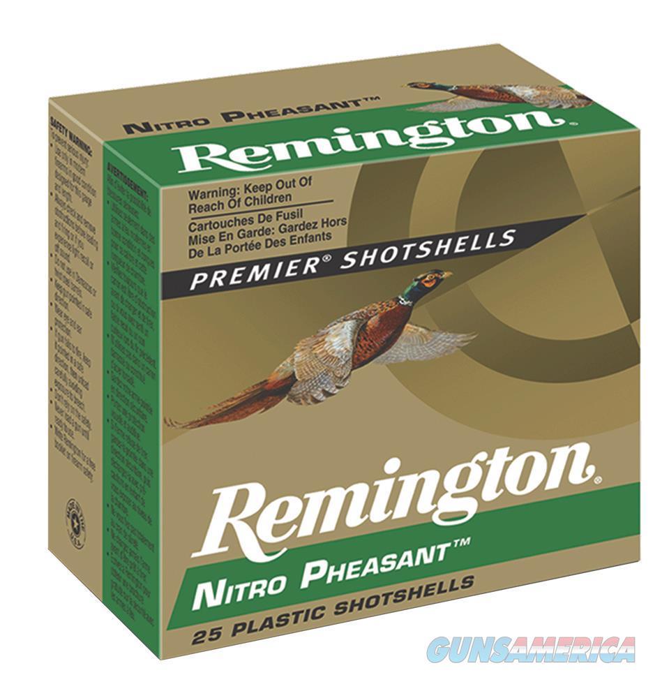 """Rem Np20m5 Nitro Pheasant Loads 20 Ga 3"""" 1-1/4 Oz 5 Shot 25Box/10Case NP20M5  Non-Guns > Ammunition"""