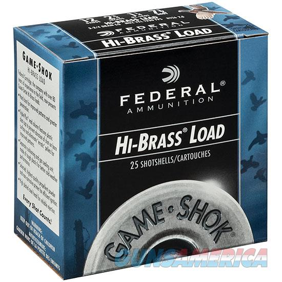 Federal Game-Shok Hi-Brass 16Ga 2.75 1-1/8Oz #6 25 H163 6  Non-Guns > Ammunition