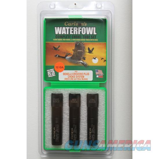 Carlson's Waterfowl Choke Set Crio Plus 07579  Non-Guns > Shotgun Sports > Chokes