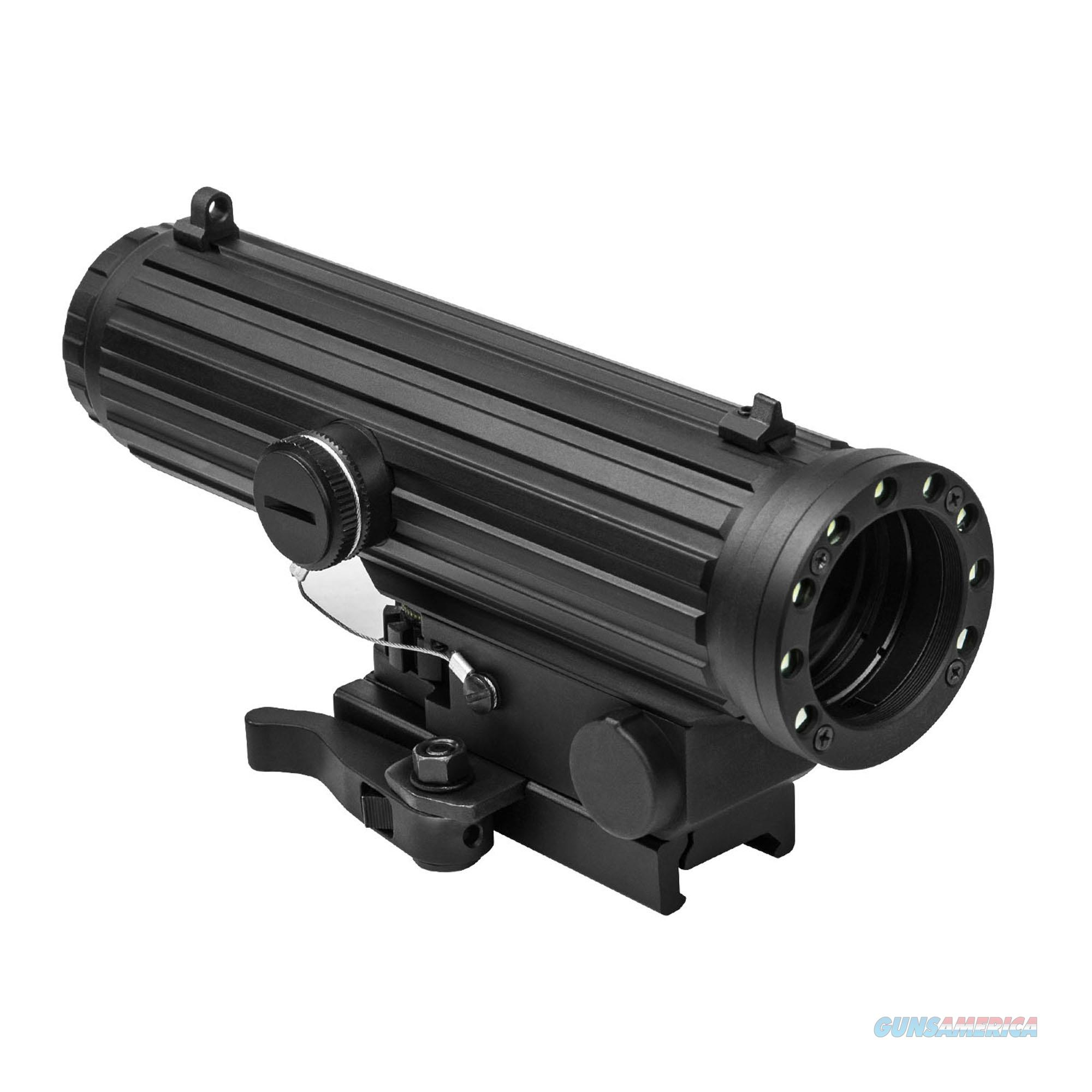 Nc Star Lio 4X34 Scope/Red & White Led Nav Lights VHLO434GB  Non-Guns > Iron/Metal/Peep Sights