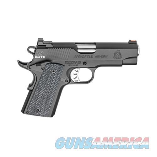 "Springfield Armory Sprgfld 45Acp Ro Elite Cmpt 4"" 6Rd PI9126E  Guns > Pistols > S Misc Pistols"
