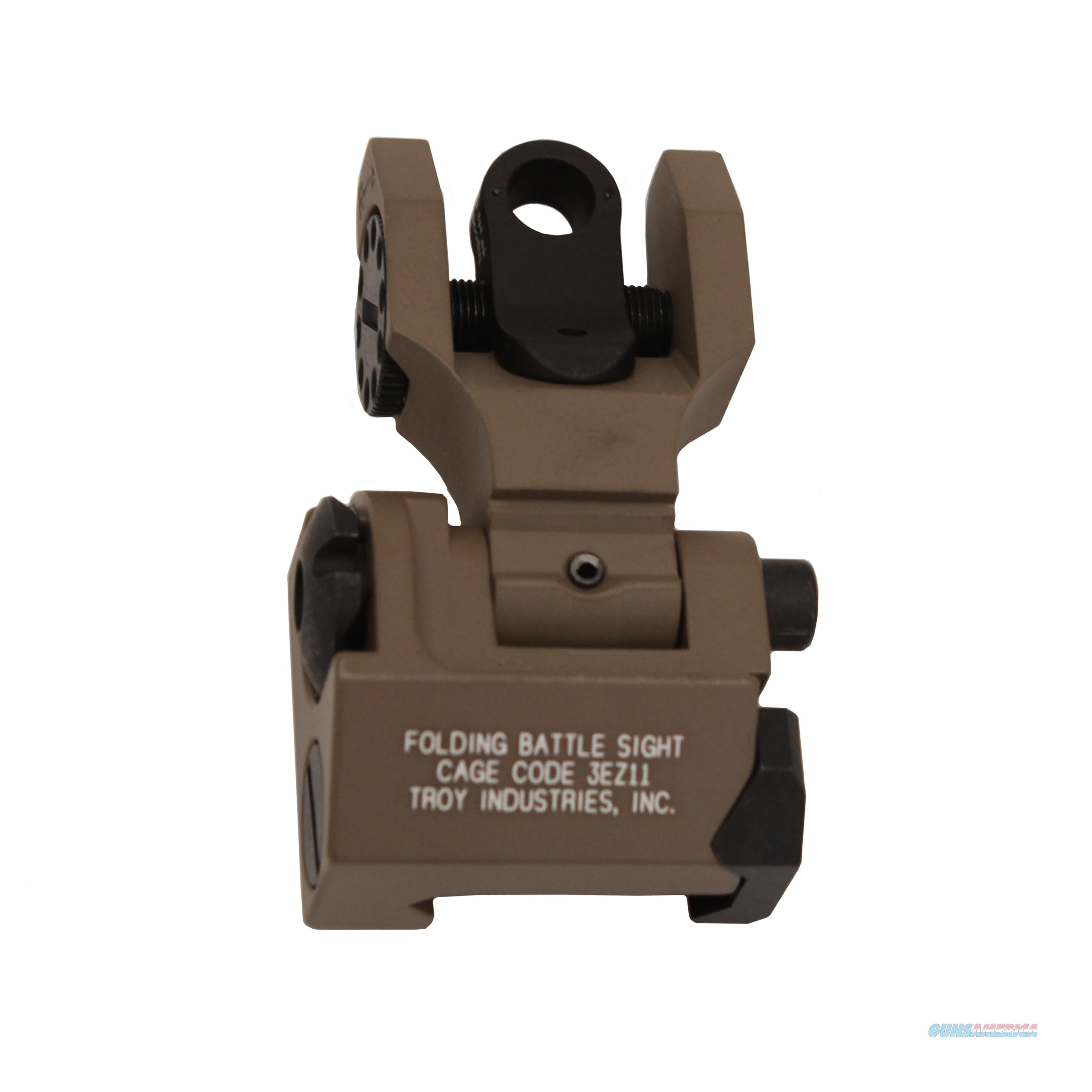 Troy Industries Inc Rear Battle Sight SSIG-FBS-RTFT-00  Non-Guns > Iron/Metal/Peep Sights