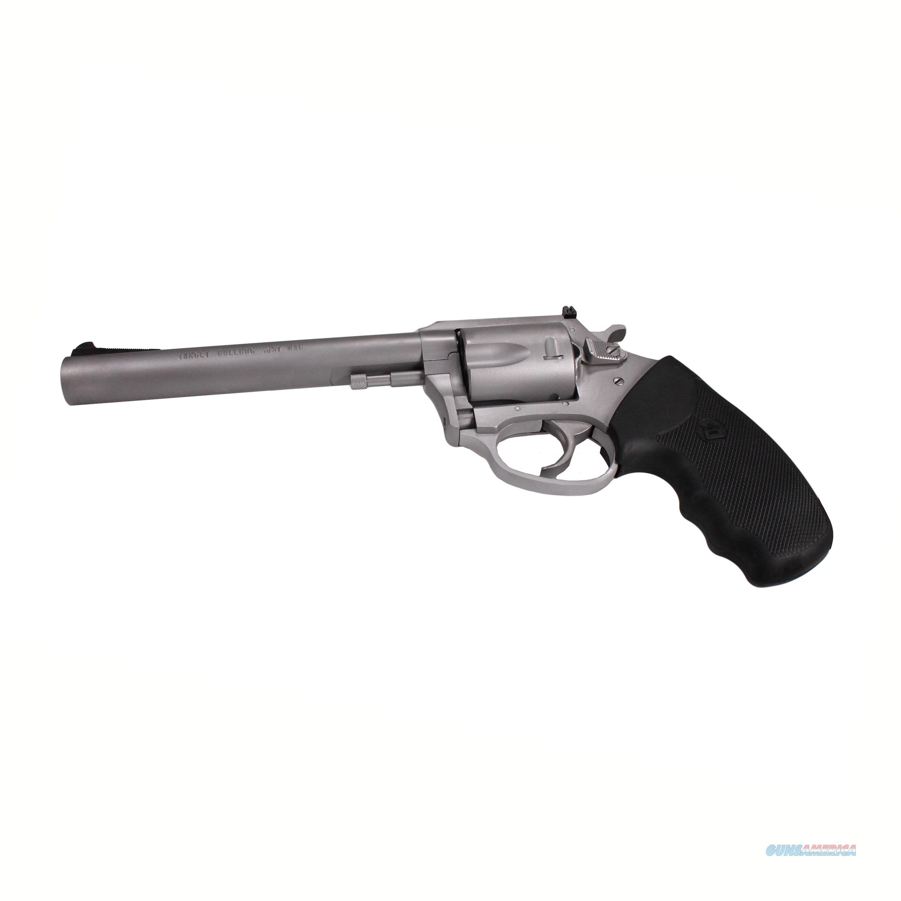 "Charter Arms Target Magnum, .357 Magnum, 6"" Barrel, 5 Rounds, Stainless Steel 73560  Guns > Pistols > C Misc Pistols"