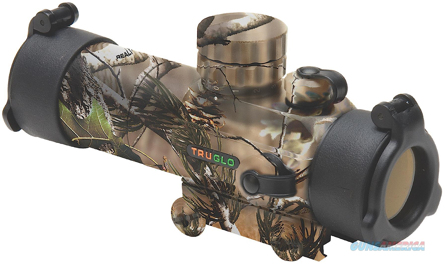 Truglo Tg8030ga Gobble Stopper 1X 30Mm Obj Unlimited Eye Relief 3 Moa Realtree Apg TG8030GA  Non-Guns > Iron/Metal/Peep Sights