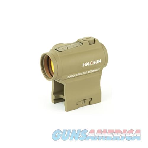 Holosun Holosun Dual Reticles Side Btry Fde HS503GUFDE  Non-Guns > Scopes/Mounts/Rings & Optics > Mounts > Other