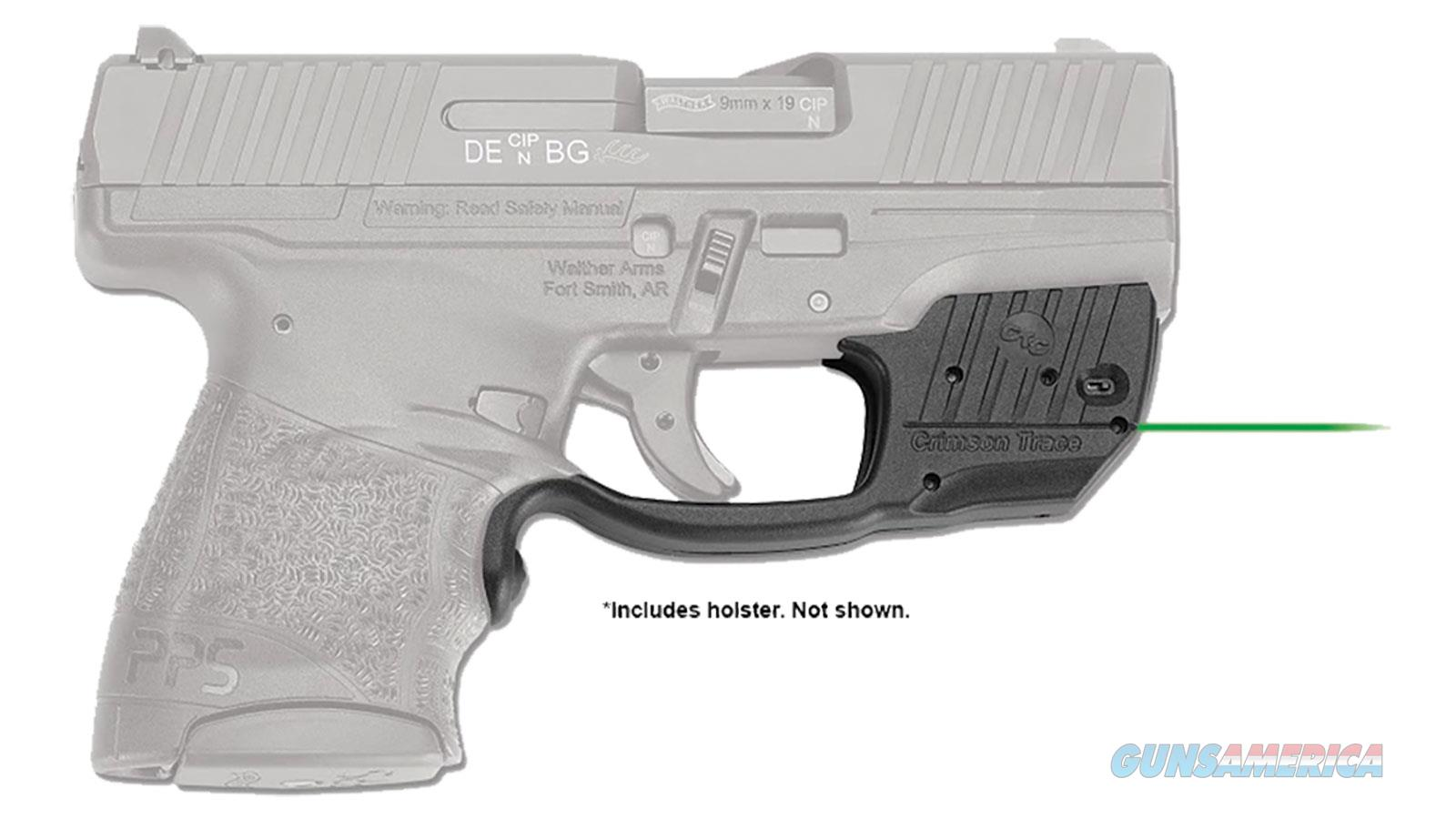 Crimson Trace Laserguard Walther Pps M2 Grn Bladetech Hol LG482GHBT  Non-Guns > Gun Parts > Misc > Rifles