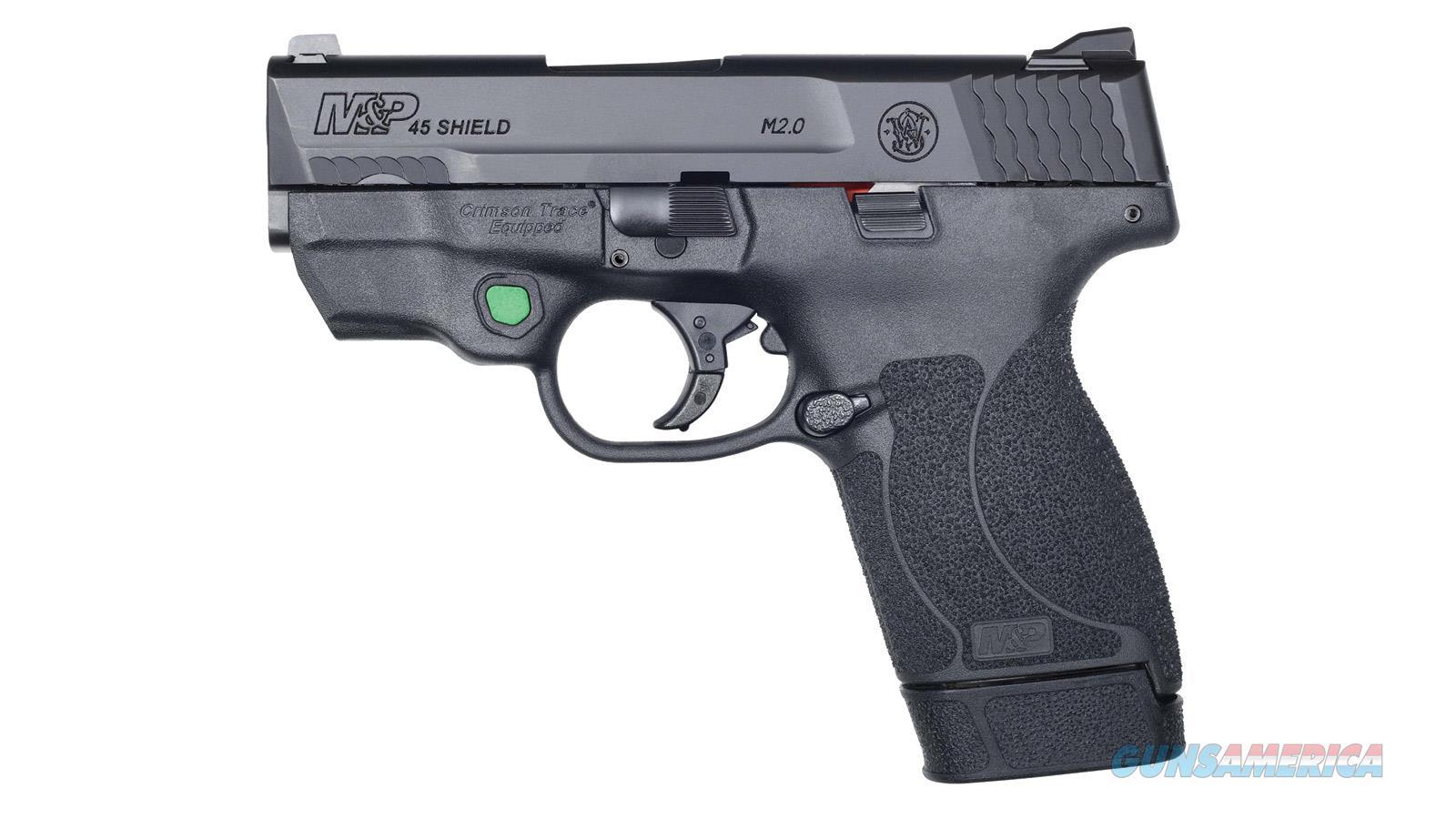 Smith & Wesson M&P45 Shield M2.0 45Acp Ct Green Laser Nts 12090  Guns > Pistols > S Misc Pistols