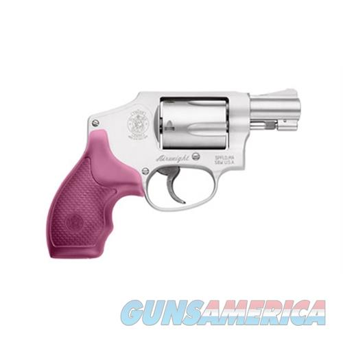 """Smith & Wesson 150466 642 Airweight Double 38 Special 1.875"""" 5 Rd Pink Synthetic Grip Stainless Steel 150466  Guns > Pistols > S Misc Pistols"""