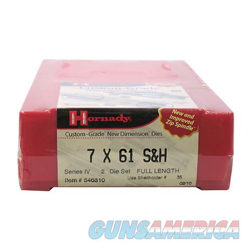 Hornady Custom Grade Series Iv New Dimension 2-Die Set 546310  Non-Guns > Reloading > Components > Brass