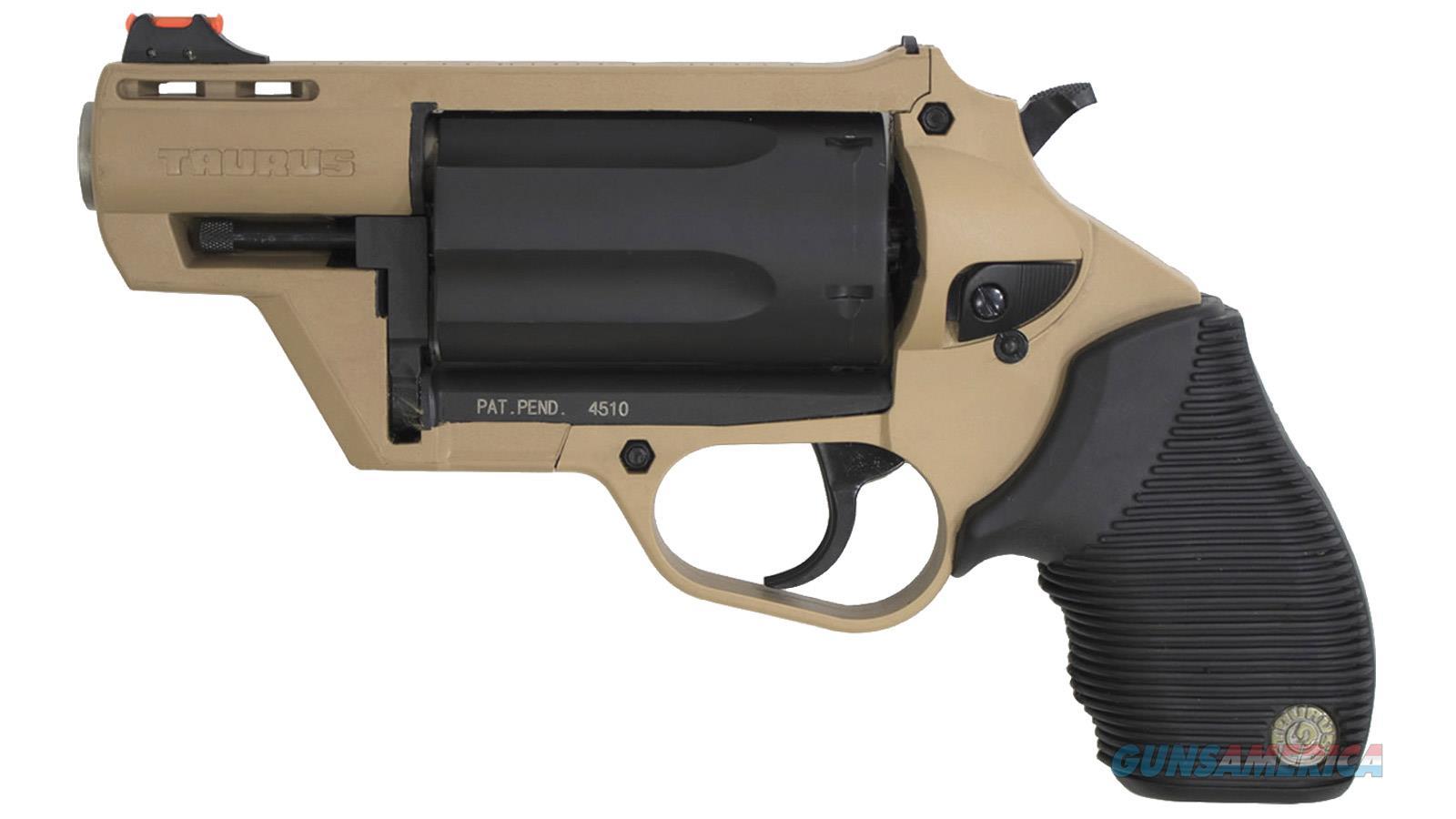 "Taurus 4510 Poly Bk 2"" Fde 5Rd 2-441021FDE  Guns > Pistols > TU Misc Pistols"