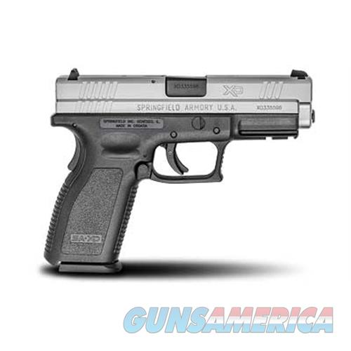"Springfield Armory Xd9301 Xd Service *Ca Compliant* Double 9Mm Luger 4"" 10+1 Black Polymer Grip Stainless Steel XD9301  Guns > Pistols > S Misc Pistols"