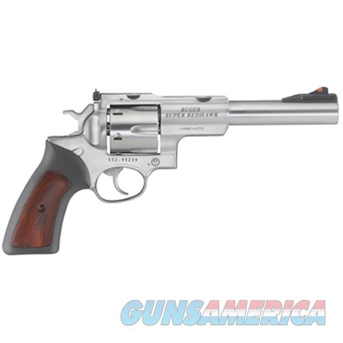 Ruger Super Redhawk 10Mm 6.5 Ss As Rubber Grips 5524  Guns > Pistols > R Misc Pistols