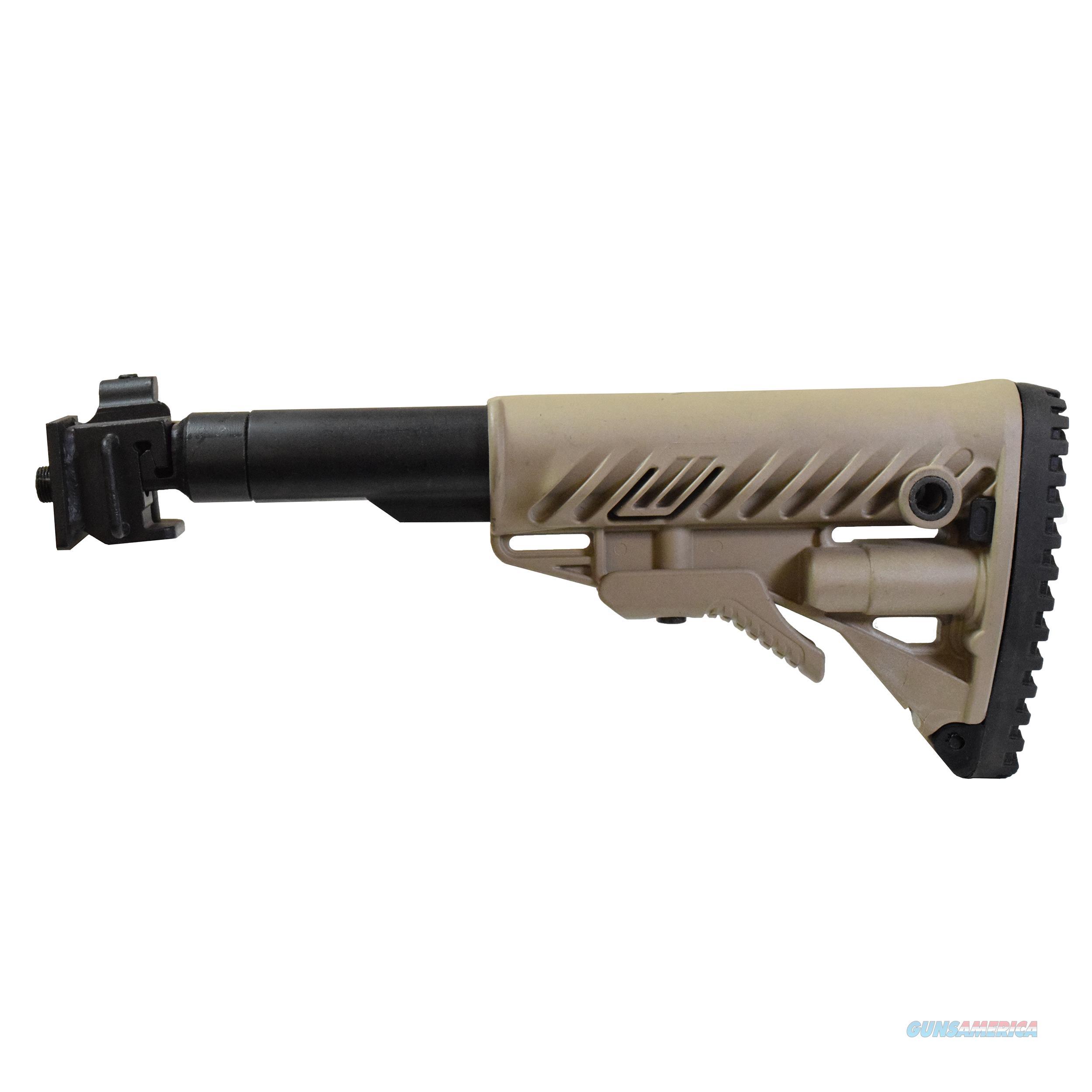 Mako Group Galil Style Folding Collapsible Buttstock System M4VZ-FDE  Non-Guns > Gunstocks, Grips & Wood
