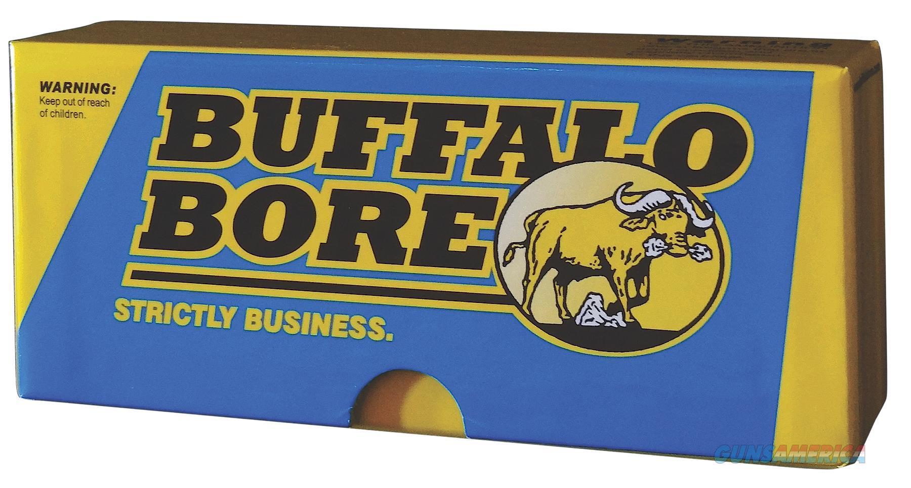 Buffalo Bore Ammo 8D/20 Rifle 45-70 Gov Fmj 500 Gr 20Box/12Case 8D  Non-Guns > Ammunition